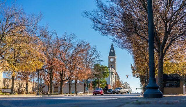 Fayetteville Arkansas Downtown Washington County Court House NWA